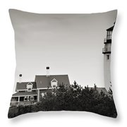 Highland Light At Cape Cod Throw Pillow