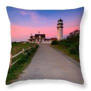 Highland Light Throw Pillow