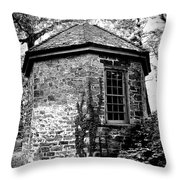 Highland Mansion - The Spring House Throw Pillow