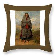 Highland Mary Throw Pillow