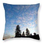 Highland Sunrise Throw Pillow