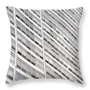Highrise Throw Pillow by Nancy Ingersoll
