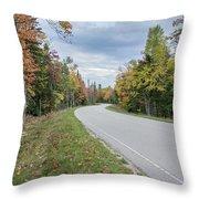 Highway 58 Throw Pillow
