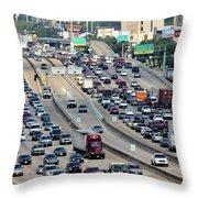 Highway 59 Throw Pillow
