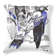 Highway Robbery American Style Throw Pillow