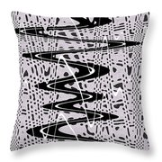 Highway Through The Wormhole Throw Pillow