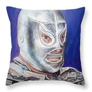 Hijo Del Santo Throw Pillow