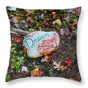 Hiking Dreams Throw Pillow