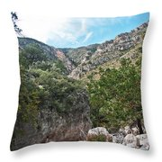 Hiking Guadalupe Throw Pillow