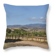 Hiking Trail To Peters Canyon Throw Pillow