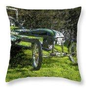 Hill Climb Car Throw Pillow