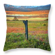 Hill Country Heaven Throw Pillow