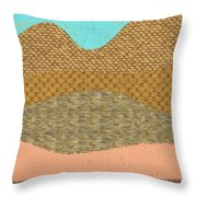Hill Country No2 Throw Pillow
