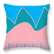 Hill Country No.3 Throw Pillow