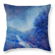 Hill Country Storm, No. 1 Throw Pillow