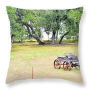hill country Texas  Throw Pillow