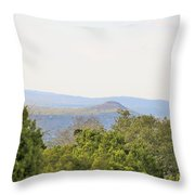 Hill Country View Throw Pillow