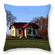 Hill House Throw Pillow