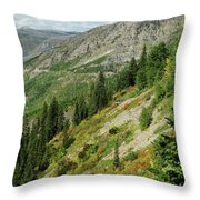 Hill Of Glory Throw Pillow