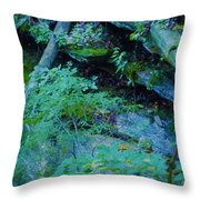 Hill Side Throw Pillow