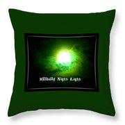 Hillbilly Night Light Throw Pillow