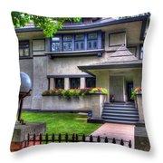 Hills-decaro House Throw Pillow
