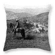 Hills Of Guanajuato - Mexico - C 1911 Throw Pillow