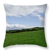Hills Touching The Sky. Throw Pillow