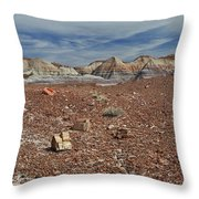 Hillside Hues Throw Pillow