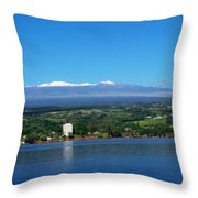 Hilo Bay Throw Pillow