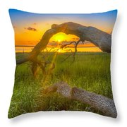 Hilton Head Island Sunrise Throw Pillow