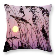 Hilton Head Sunset Throw Pillow
