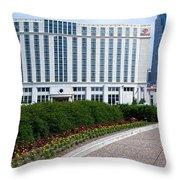 Hilton Nashville Tennessee Throw Pillow