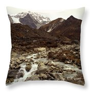 Himalaya Throw Pillow