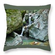 Himalayan Waterfalls Throw Pillow