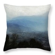 Himalya Throw Pillow