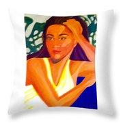 Hinanopolani Throw Pillow