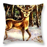 Hinds Feet Throw Pillow