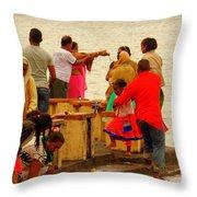 Hindu Offering 2 Throw Pillow