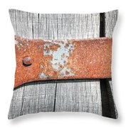 Hinge Throw Pillow by Todd Blanchard