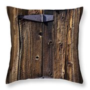 Hinges Throw Pillow