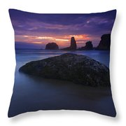 Hint Of Light Throw Pillow