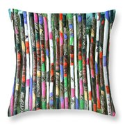 Hint Of Tiger - Sold Throw Pillow