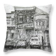 Hip Gypsy North Tonawanda Throw Pillow