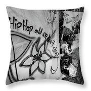 Hip Hop We Don't Stop Throw Pillow
