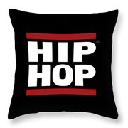 Hiphop Throw Pillow