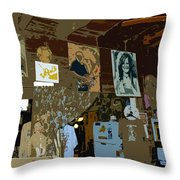 Hippie Hang Out Throw Pillow