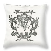 Hippocratic Corpus Throw Pillow by Science Source