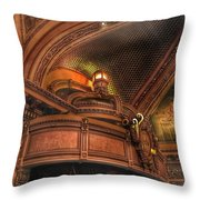 Hippodrome Theatre Balcony - Baltimore Throw Pillow