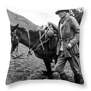 Hiram Bingham (1875-1956) Throw Pillow